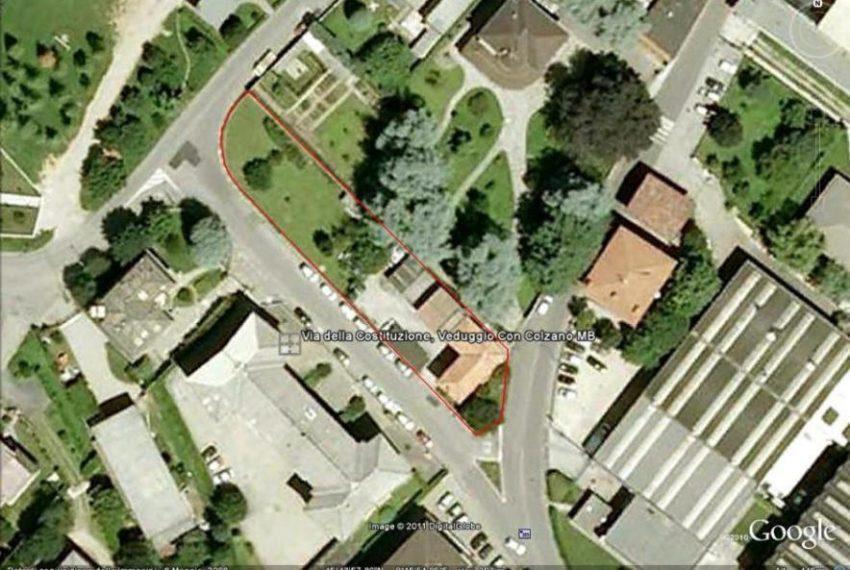 vista satellitare Veduggio